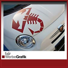 Fiat 500 Abarth - Punto - 500 - Skorpion - Aufkleber Sticker #0063