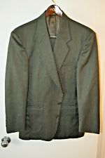 CIRCOLA MODA 44R  WOOL Suit 34/31Brown/grey