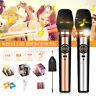 2X Wireless Microphone Speaker Mic Handheld Karaoke KTV & UHF Receiver  \cn