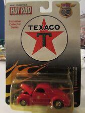 Racing Champions Hot Rod Magazine Texaco 1941 Willys Red
