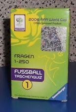 2006 FIFA World Cup , Fußball Taschenquiz von Ravensburger Fragen 1-250