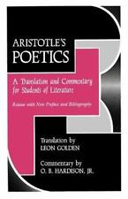 Aristotle's Poetics: A Translation and Commentary for Students of Literature (Fl