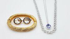 Swarovski Swan 4 Pc Jewelry Lot TT440