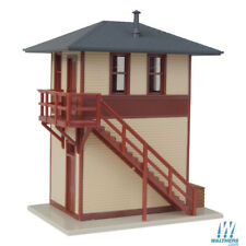 NEW Walthers Trackside Signal Tower Assembled Building HO Scale FREE US SHIP