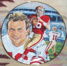 "Gartlan Joe Montana ""Comeback Kid""  8"" Collectors Plate , FREE SHPPING"