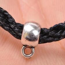 50Pcs Tibetan Silver Connectors Bail Beads Pendant 9x6x4mm B3393