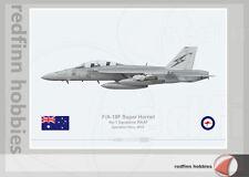 Warhead Illustrated F/A-18F Super Hornet 1 Sq RAAF 212 Op.Okra Aircraft Print