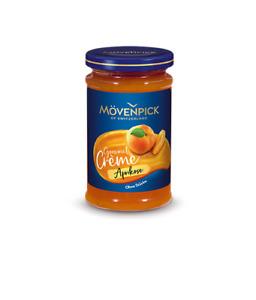 6 Gläser Mövenpick │ Aprikose Gourmet Creme Fruchtaufstrich ohne Stücke 1,5kg