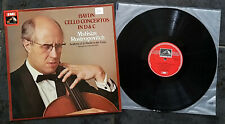 12 in VINYL LP, HAYDN, CELLO CONCERTOS, ROSTROPOVITCH, EMI ASD3255