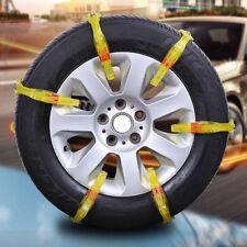 1pcs Peerless Emergency Tire Chain Strap on Set for Snow Ice Mud Car Truck Wheel