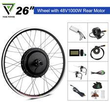 "48V1000W 26"" Kit conversione ruota libera posteriore  per bici elettrica"