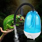 Reptile Fogger Terrariums Humidifier Fog Machine w/ 3L Tank+Adjustable Hos