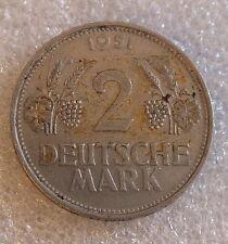1951-D---GERMANY-2  MARK--BETTER GRADE