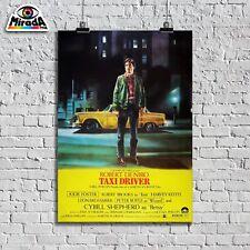 POSTER TAXI DRIVER TAXISTA MARTIN SCORSESE DE NIRO NEW YORK CULT MOVIE FILM 2