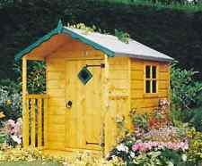 Garden Wooden Shed Playhouse 4' x 4' 1190mm x 1190mm T&G 'Hide'