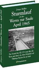 Asalto de la Werra para la Saale Abril 1945 (Jürgen Möller)