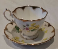 Royal Albert Fine Bone China Cup And Saucer Vintage Made In England