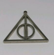 Harry Potter Deathly Hallows Triangular Rotating Metal Piece
