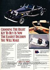 1992 Classic Roadster 500k replica Original Advertisement Print Art Car Ad J753