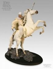 Sideshow Gandalf the White on Shadowfax Statue Lord of the Rings MIB