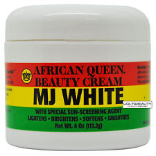 African Queen Beauty Cream Mj White 4 Oz / 113.2 g