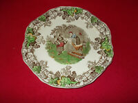COPELAND SPODE BYRON SERIES NO.1 SANDWICH PLATE APPROX 10 INCHES IN DIAMETER