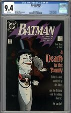 Batman #429 CGC 9.4 NM A Death in the Family Part 4 WHITE PAGES