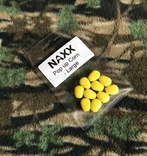 x10 Pop Up Corn Yellow Imitation Floating Sweetcorn Fake Carp Fishing Bait Large