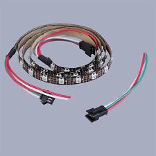WS2812B 5050 RGB LED Strip 1M 60 Leds 60LED Individual Addressable 5V Black ASS