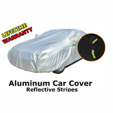 Car Cover Reflective Aluminum Solar&UV Rain/Dust/Wind Proof All Weather Protect