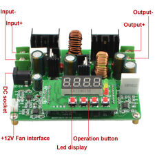 D3806 CNC DC Constant Current Power Supply Step Down & Up Module Volt & Ammeter