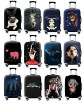 "Dustproof 18""-32"" Trolley Case Protective Travel Elastic Luggage Suitcase Cover"
