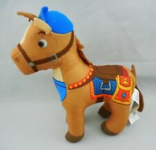 "Fisher Price 6"" Galahad, plush stuffed horse, from Mike the Knight 2012 Mattel"