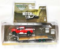 Greenlight Hitch & Tow 2017 Ford F-150 with Gooseneck Trailer Chase 1/64 32151