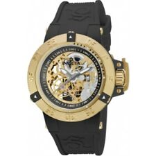 Invicta 16095 Subaqua Noma III Anatomic Mechanical Skeleton Black Womens Watch