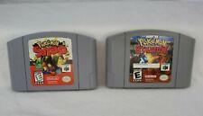 Nintendo N64 Genuine Authentic Pokemon Stadium Snap Original Game Cartridge Lot