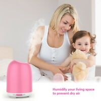 LED Ultrasonic Aromatherapy Essential Oil Diffuser Fountain Air Humidifier