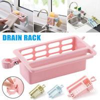 Drain Rack Water Faucet Sink Sponge Soap Rag Storage Shelf Holder Kitchen Tool
