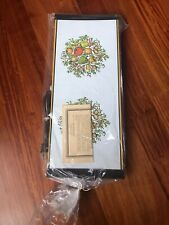 Retro Vintage Jasco Products Food Warming Tray/Hot Plate~Vegetable Print