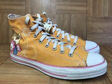 957219bcbabe RARE🔥 Converse Chuck Taylor All Star Hi Orange Flower Butterfly Floral Sz  10