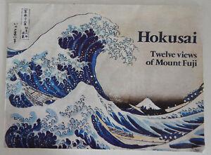 HOKUSAI TWELVE VIEWS OF MOUNT FUJI