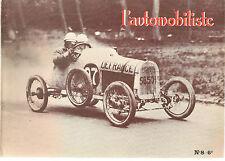 L'AUTOMOBILISTE 8 1968 MOGAN DARMONT THREE WHEELERS BOL D'OR 1922 23 RENAULT 4CV