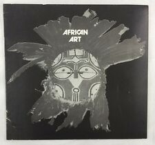 Art Exhibition Catalogue 1972 African Art Collection Davenport Museum Iowa
