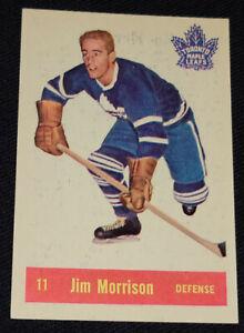 1957-1958 - PARKHURST - JIM MORRISON - TORONTO MAPLE LEAFS - HOCKEY CARD T-11