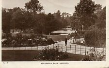 Alexandra Park - HASTINGS - Sussex Original Postcard 1916 (Ref: LA)