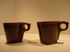 Hull Brown Drip Coffee Cup set of two