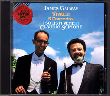 James Galway: Vivaldi Flute Concerto Rv 108 427 429 436 438 440 Claudio Scimone