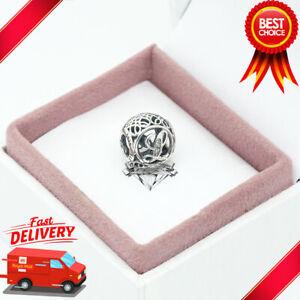 Pandora, Vintage Alphabet, Letter L, Initial, Bracelet Charm 791856CZ