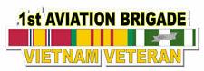 1st Aviation Brigade Vietnam Veteran Sticker Vinyl Decal 6-1
