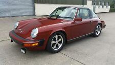 1976 Porsche 911S 2.7 Targa Fully Restored, 911, G Series